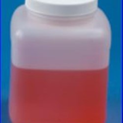 64 oz HDPE Jar, Square, 89-400, ,