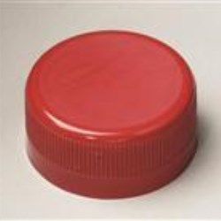 38-730, P/P Tamper Evident Closure, F1 Plain, Ribbed Skirt, Smooth Top,
