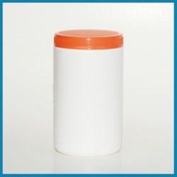 36 oz HDPE Jar, Round, 89-400, ,
