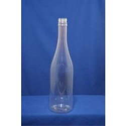 750 ml PVC Long Neck, Round, 28-410Tamper Evident, ,