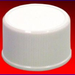 28-410, P/P Continuous Thread Closure, SureSeal Land Fine Ribbed Skirt, Mat/Stipple Top,