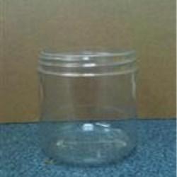 16 oz PVC Jar, Round, 89-400,