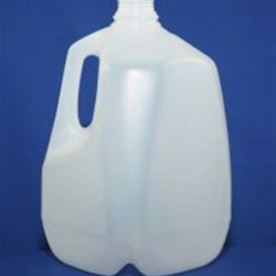 1 gal HDPE Handleware, Square, 38mm Snap On, Light Weight ,