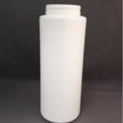32 oz HDPE Cylinder, Round, 63-400, ,