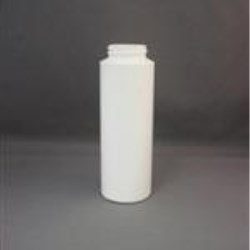 8 oz LDPE Cylinder, Round, 38-400, Straight Sided