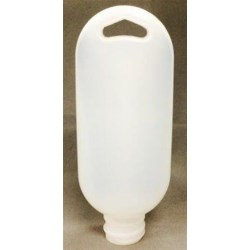 1.5 oz HDPE Tottle/Tube Bottle, Oval, 20-410, ,