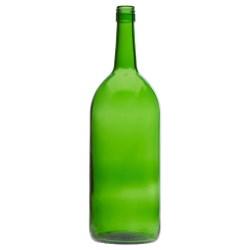 1.5 ltr Claret, Champagne Green, Stelvin Finish Flat Bottom, 5357