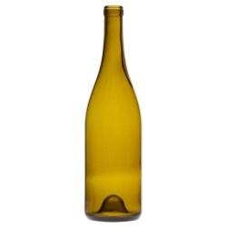 750 ml Burgundy, Antique Green, Cork Finish Fp, 8265
