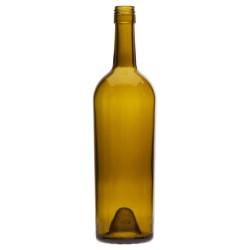 750 ml Claret, Antique Green, Stelvin Finish PU Tapered, 4855