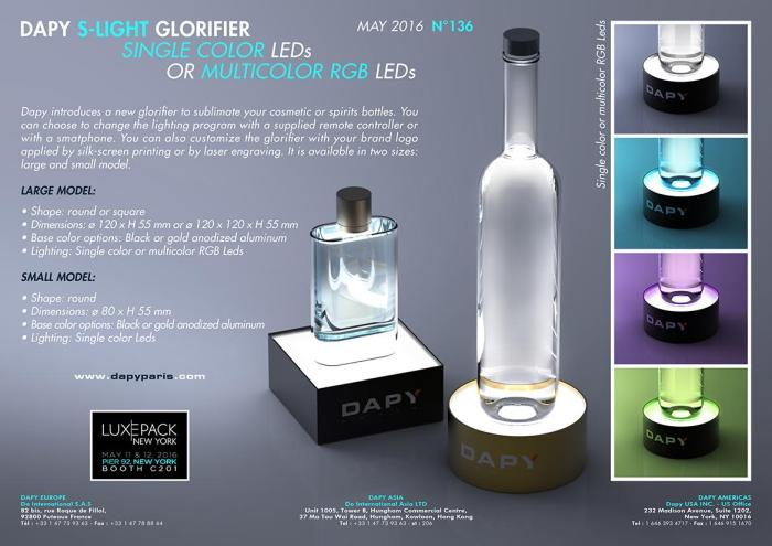 Dapy Can Now Glorify Any Cosmetic Or Alcohol Bottle You D