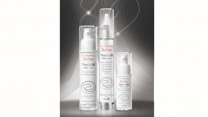 Serumony featured in the PhysioLift skin care range from Laboratoires Dermatologiques Avène