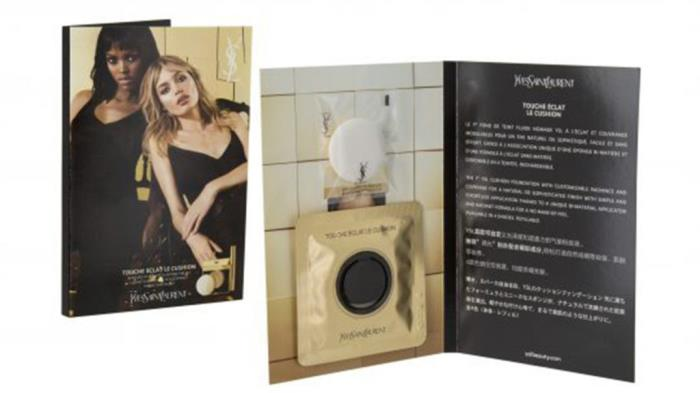 "Aptar Beauty + Home creates the ""Sample of the Future"" for Yves Saint Laurent"