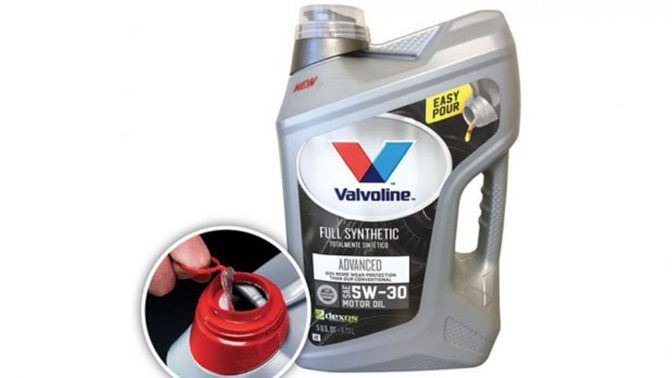 Valvoline selects Aptar to bring a better consumer experience to motor oil packaging