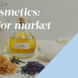 Organic cosmetics: A key market