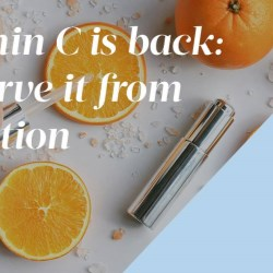The return of vitamin C in anti-aging formulas