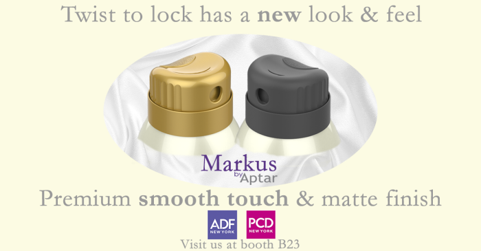Aptar Beauty + Home Launches Markus