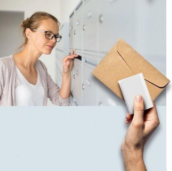 Gerresheimers Duma Pocket fits through many mailboxes