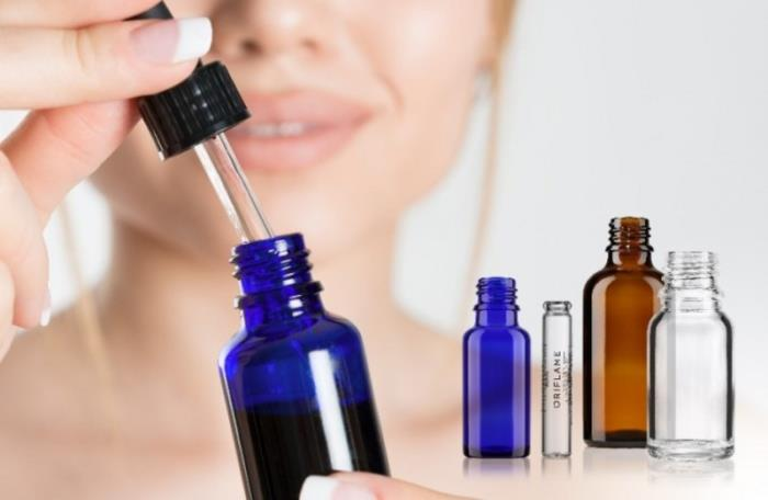 Classic pharmaceutical vials are also popular in the beauty world