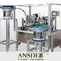 The chain-type lip balm assembly line by Ansder