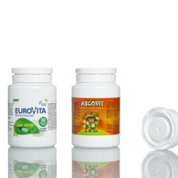 Food supplements in D27 pill jars by Omega Pharma