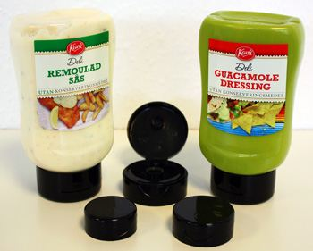 Scandinavian Packaging launches a new range of food-grade dispensing closures