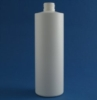 400ml Simplicity bottle white HDPE 24mm neck