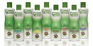 Alpha Packaging's custom bottle for Senproco's Green Groom line