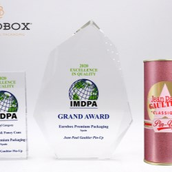 Eurobox' wins 2020 Excellence in Quality for JPG's Pin Up
