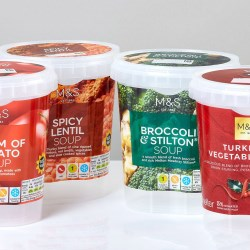 Fresh packaging formats for fresh soup
