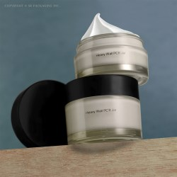 Heavy Wall PCR PET Jar for the Eco Skincare Premiums