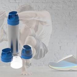 Carl, a dual spray actuator for optimal freshness in shoes