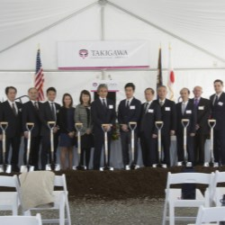 Takigawa Corp. New Facility in Bardstown, KY., USA