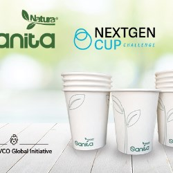 INDEVCO's Sanita Natura recyclable cup shortlisted in NextGen Cup Challenge