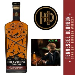 Heaven's Door Spirits Packaging Honors Bob Dylan's Connection to Iron Ore Country